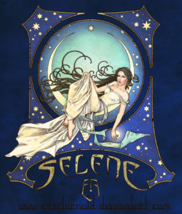 Selene by Edsel Arnold, winner of the 2013 JordanCon Art Show Judge's Choice Award.