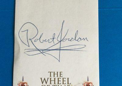 Bookplate Autographed by Robert Jordan