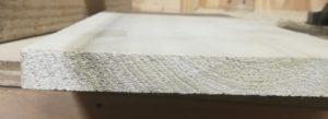 Rough board, pre-sanding