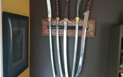 Making a Decorative Sword Mount