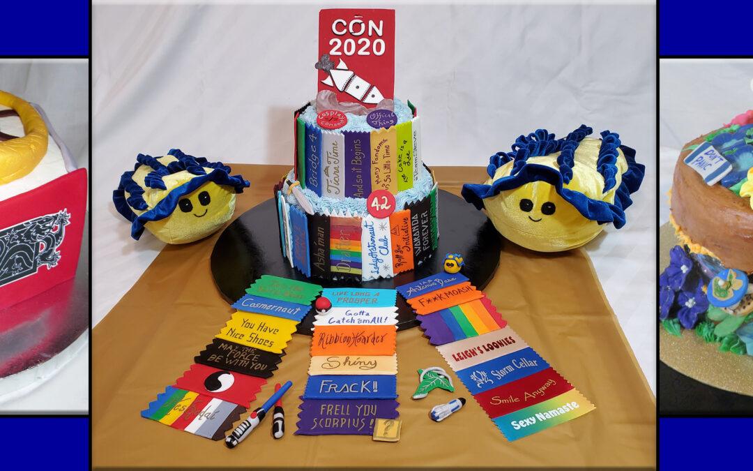 Fan themed cakes by Deana Whitney