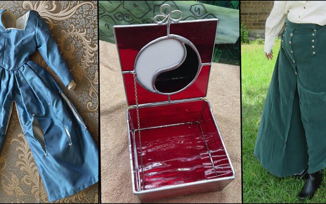 Split Skirts and Aes Sedai Trinket box